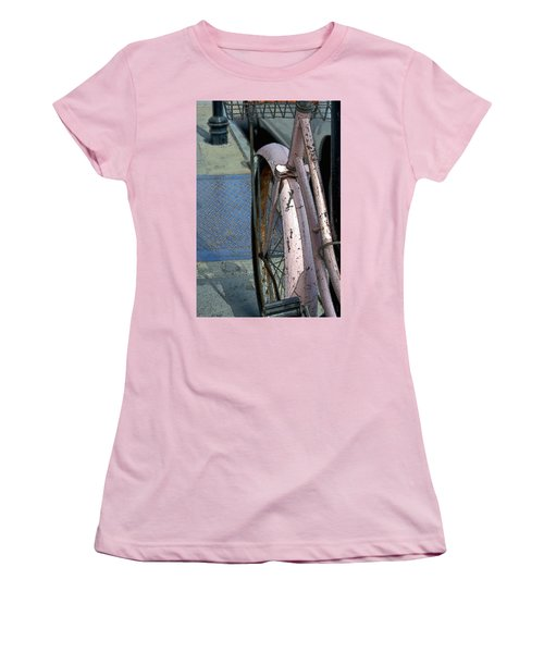 The Pink Bicyclette Women's T-Shirt (Athletic Fit)