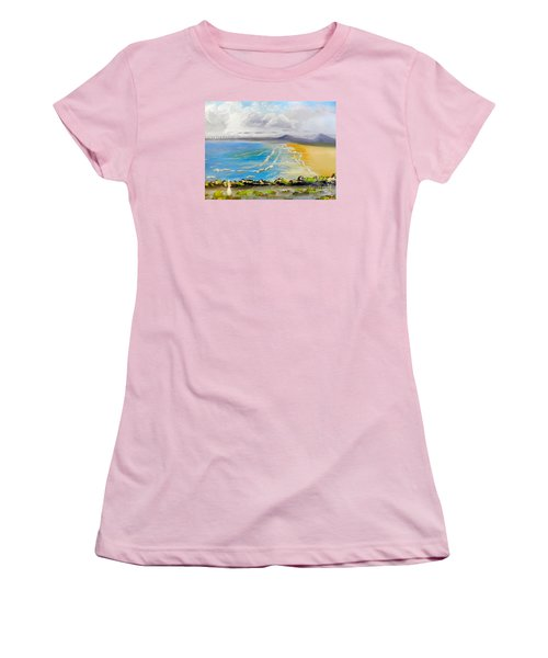 Towradgi Beach Women's T-Shirt (Athletic Fit)