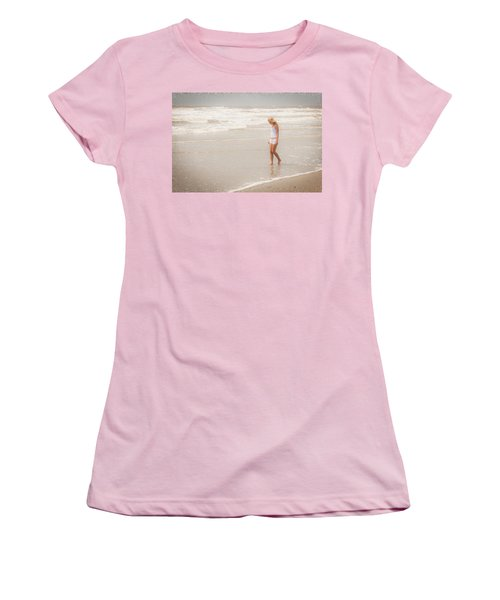 Women's T-Shirt (Junior Cut) featuring the photograph Tranquility by Sennie Pierson