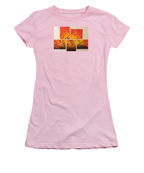 Tree Of Infinite Love Women's T-Shirt (Athletic Fit)