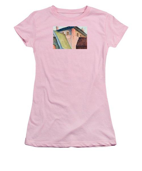 Upper Level Women's T-Shirt (Junior Cut) by Lee Beuther