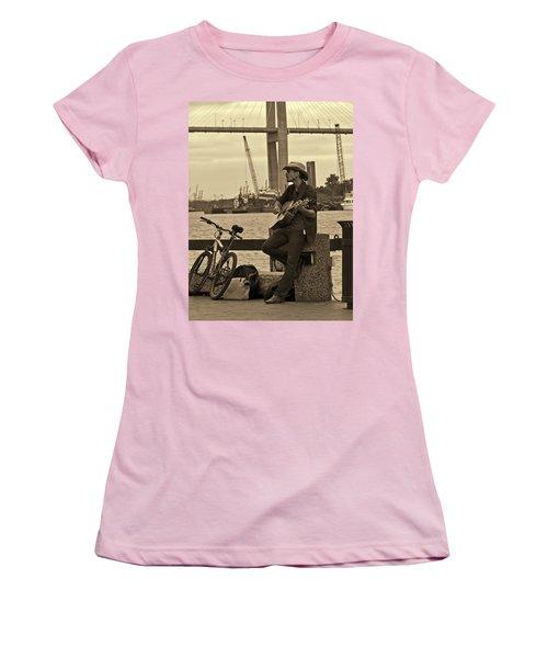 Urban Cowboy Women's T-Shirt (Athletic Fit)
