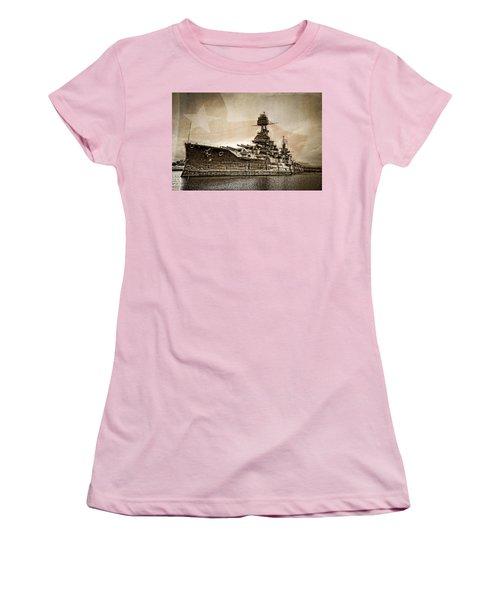 U.s.s. Texas Women's T-Shirt (Athletic Fit)