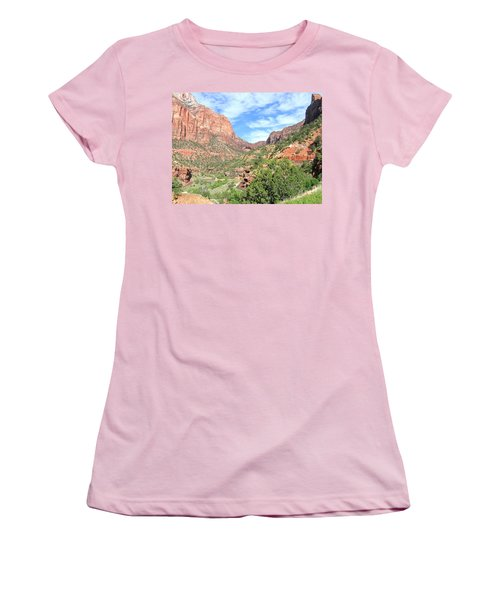 Women's T-Shirt (Athletic Fit) featuring the photograph Utah 21 by Will Borden
