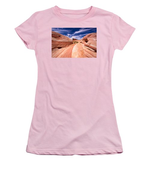 Valley Of Fire 2 Women's T-Shirt (Athletic Fit)