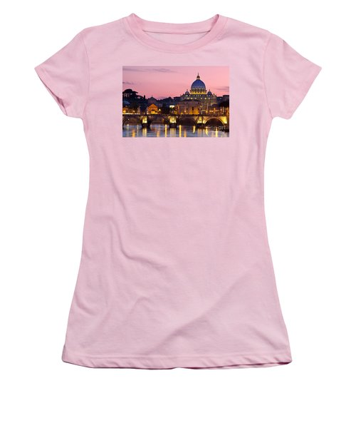 Vatican Twilight Women's T-Shirt (Athletic Fit)