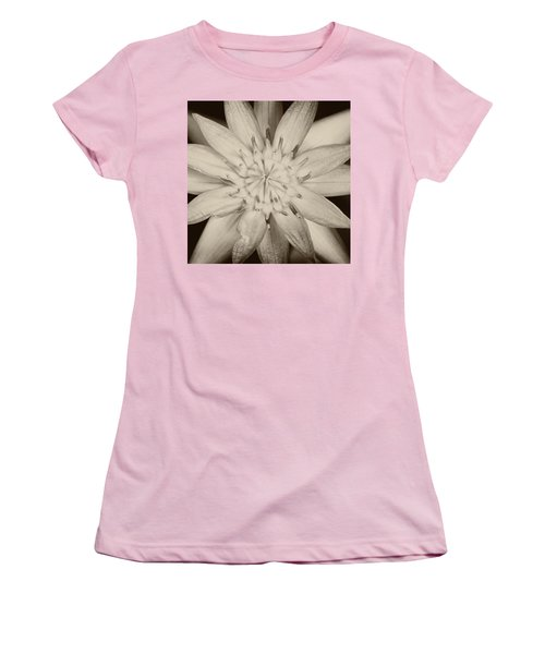 Lotus Women's T-Shirt (Junior Cut) by Ulrich Schade