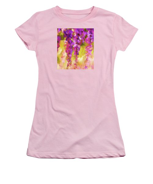 Wisteria Dreams Women's T-Shirt (Athletic Fit)