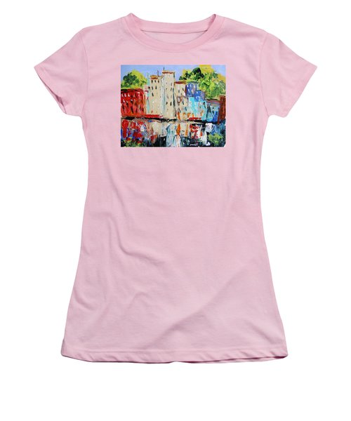 After Hours-reflection Women's T-Shirt (Junior Cut) by John Williams