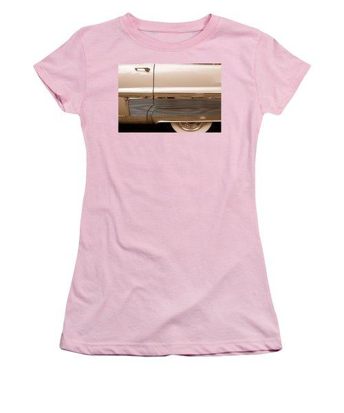 Women's T-Shirt (Junior Cut) featuring the photograph Chrome by John Schneider