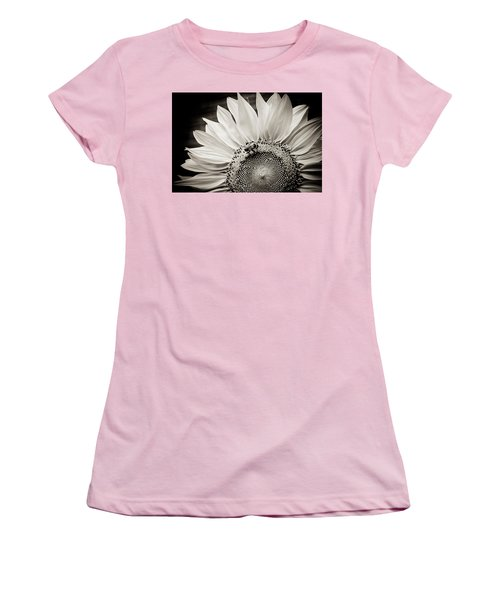 Women's T-Shirt (Junior Cut) featuring the photograph Classic Sunflower by Sara Frank