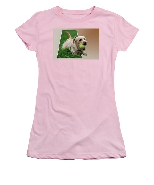 Women's T-Shirt (Junior Cut) featuring the photograph Cruz My Ball by Thomas Woolworth