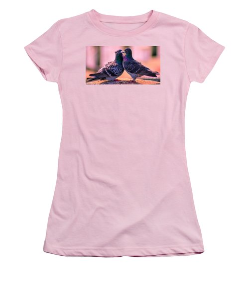 Love At First Site Women's T-Shirt (Athletic Fit)