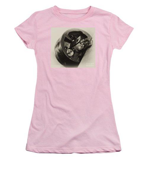 Old Plug  Women's T-Shirt (Junior Cut) by Wilma  Birdwell