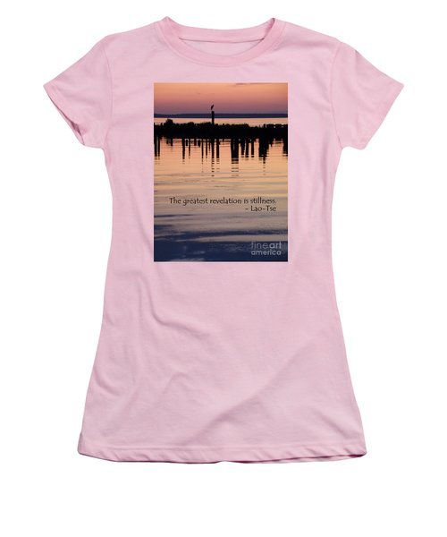 Women's T-Shirt (Junior Cut) featuring the photograph Revelation by Lainie Wrightson