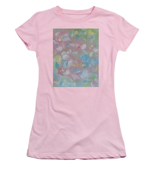 Softly Spoken Women's T-Shirt (Junior Cut) by Judith Rhue