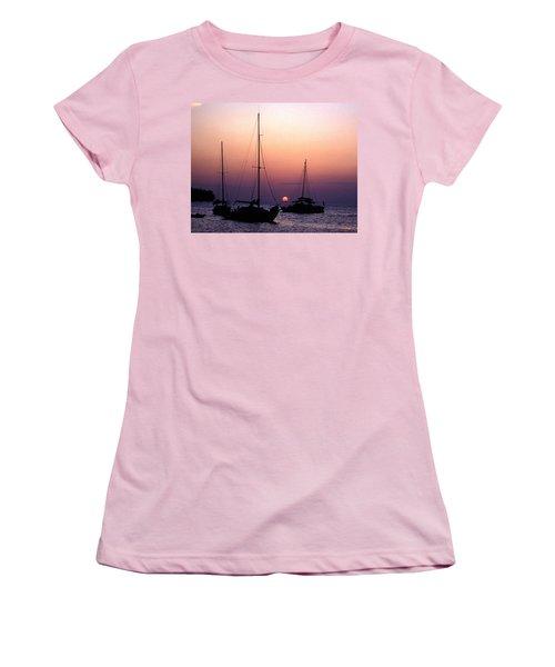 Sunset Off Simonton Street 14e Women's T-Shirt (Junior Cut) by Gerry Gantt
