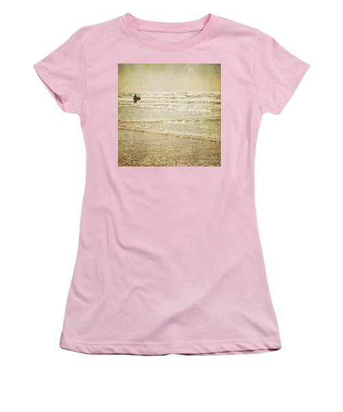 Surf The Sea And Sparkle Women's T-Shirt (Junior Cut) by Lyn Randle