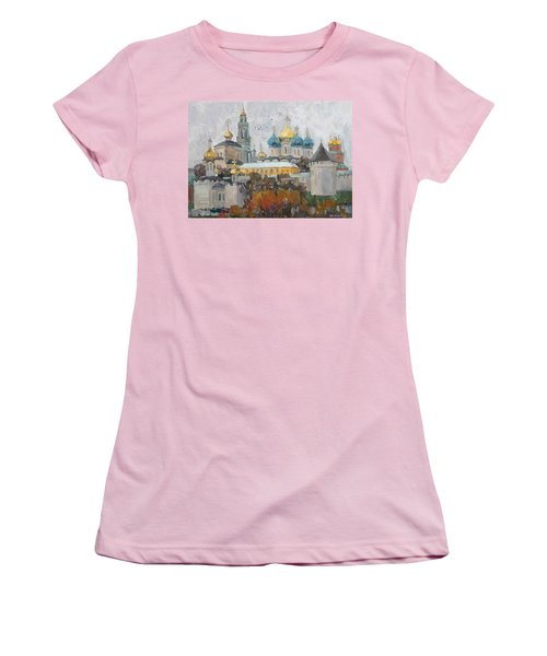 Trinity-st. Sergius Lavra Women's T-Shirt (Athletic Fit)