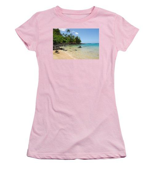 Tropical Paradise Women's T-Shirt (Junior Cut) by Lynn Bauer