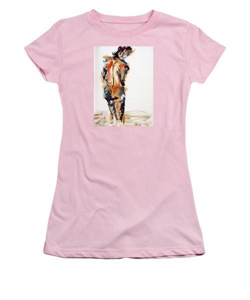04855 No Regrets Women's T-Shirt (Junior Cut) by AnneKarin Glass