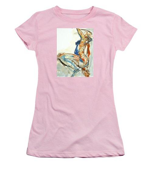04958 Suddenly Women's T-Shirt (Junior Cut) by AnneKarin Glass