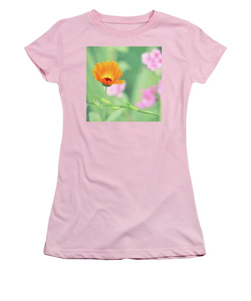 Be Beautiful Women's T-Shirt (Junior Cut) by Robin Dickinson