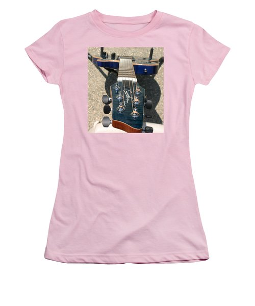Women's T-Shirt (Athletic Fit) featuring the photograph Fall Melody by Marie Neder