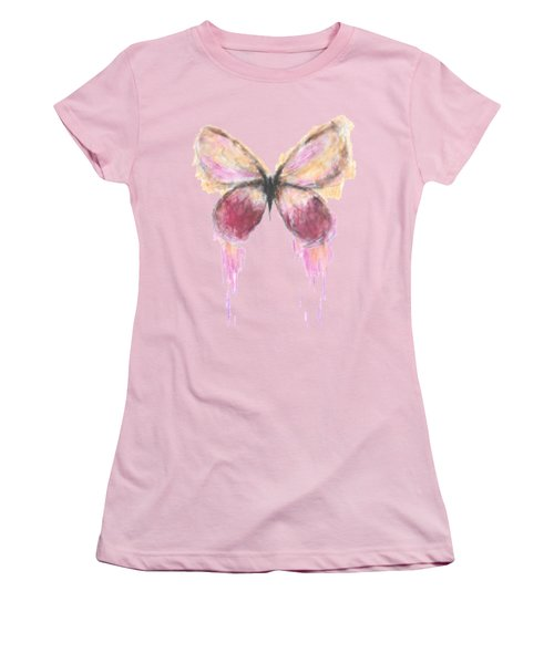 Flutterby  Women's T-Shirt (Athletic Fit)