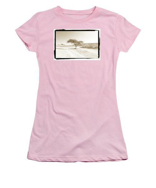 Lonely Tree Women's T-Shirt (Athletic Fit)