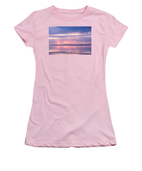 Reflections At Sunset In Key Largo Women's T-Shirt (Athletic Fit)