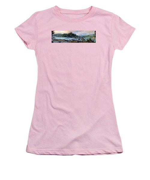 Rhinefalls, Switzerland Women's T-Shirt (Athletic Fit)