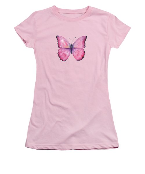 105 Pink Celestina Women's T-Shirt (Junior Cut)