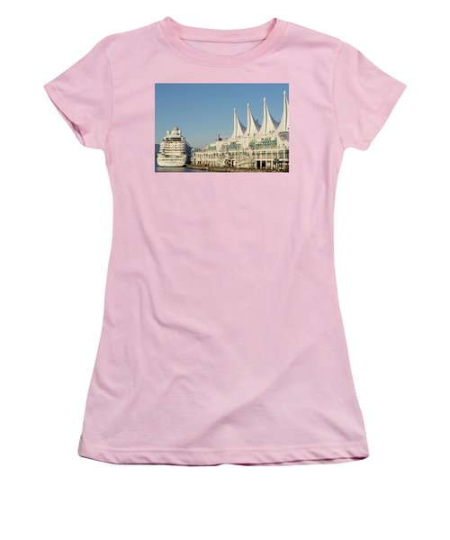 Canada Place Women's T-Shirt (Athletic Fit)