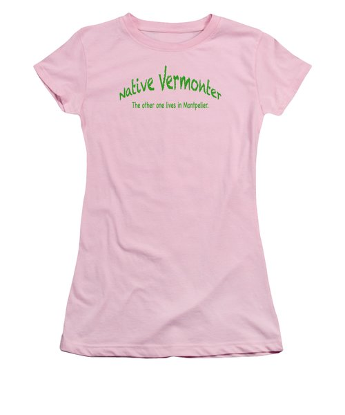 Native Vermonter Women's T-Shirt (Athletic Fit)