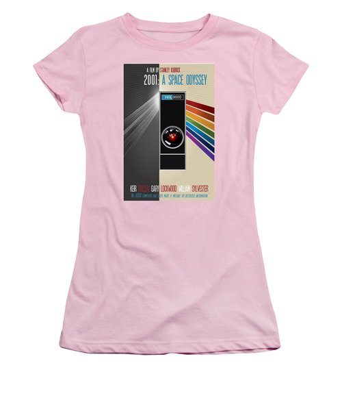 2001 A Space Odyssey Poster Print - No 9000 Computer Has Ever Made A Mistake Women's T-Shirt (Athletic Fit)
