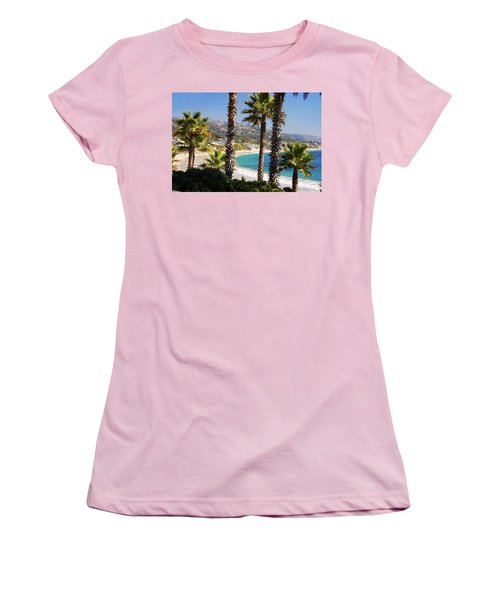 Laguna Beach California Coast Women's T-Shirt (Athletic Fit)