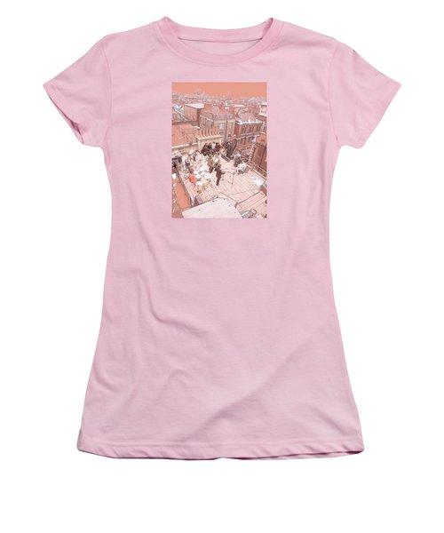 3 Savile Row, London W1s 3pb Women's T-Shirt (Athletic Fit)