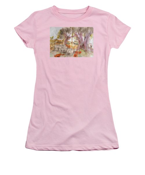 Trees Trees Trees Album Women's T-Shirt (Athletic Fit)