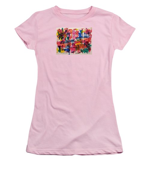 A Busy Life Women's T-Shirt (Athletic Fit)