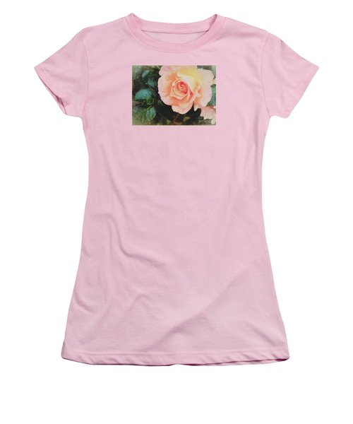 A Rose For Kathleen Women's T-Shirt (Junior Cut) by Janice Rae Pariza