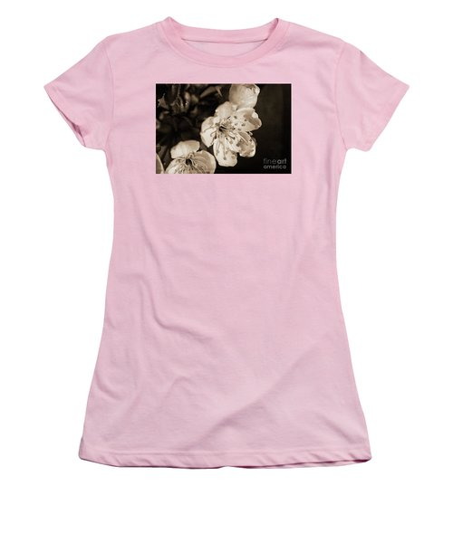 Women's T-Shirt (Athletic Fit) featuring the photograph Abiding Elegance by Linda Lees