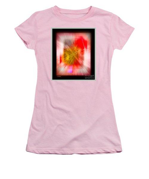 Abstract 530-2016 Women's T-Shirt (Junior Cut) by John Krakora