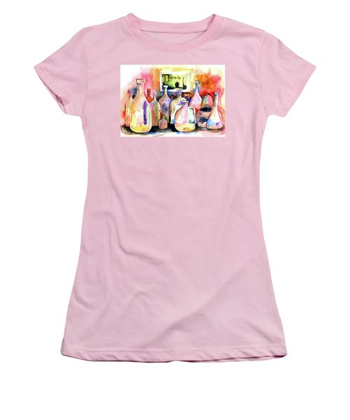 Abstract Containers Women's T-Shirt (Junior Cut) by Terry Banderas