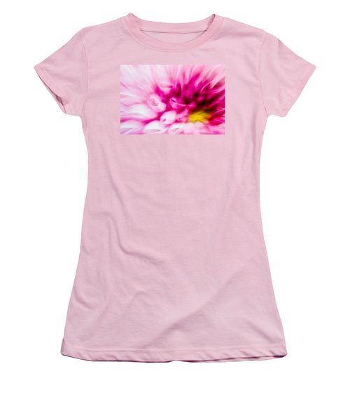 Abstract Floral No. 1 Women's T-Shirt (Athletic Fit)