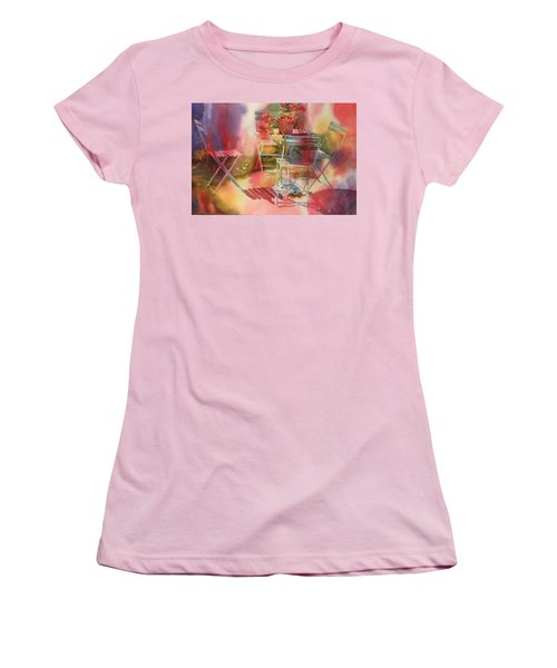 Afternoon Light Giverny, France Women's T-Shirt (Junior Cut) by Tara Moorman