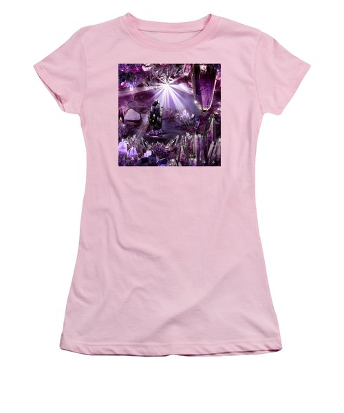 Amethyst Dreams Women's T-Shirt (Athletic Fit)