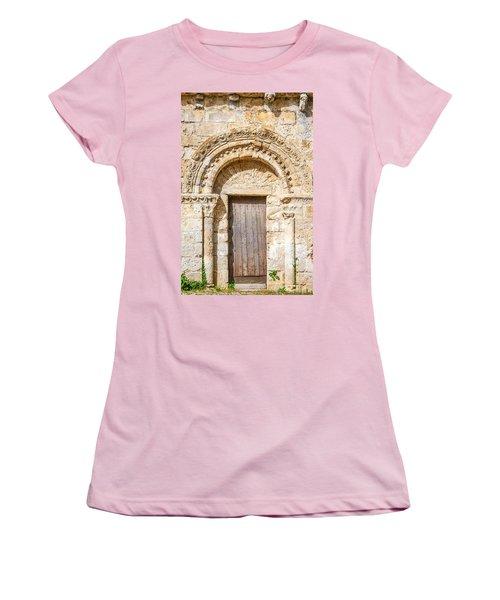 Ancient Stone Portal Women's T-Shirt (Athletic Fit)