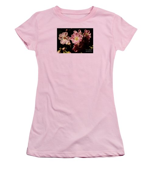 Apple Blossoms IIi Women's T-Shirt (Athletic Fit)