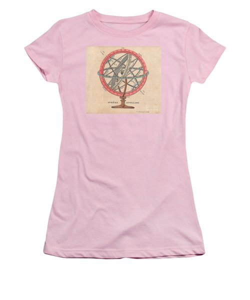 Armillary Sphere  Women's T-Shirt (Junior Cut) by Sergey Lukashin